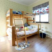 三室两厅木质上下床