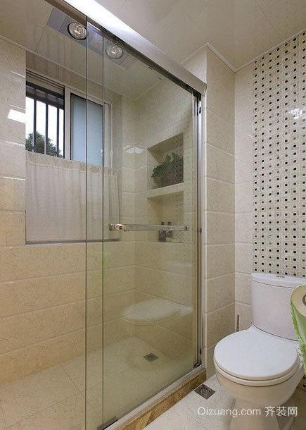 豪华都市家庭欧式风格小卫生间装修效果图图片