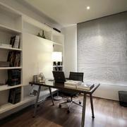 三室两厅现代书房