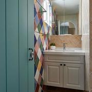 三室两厅小卫生间浴柜