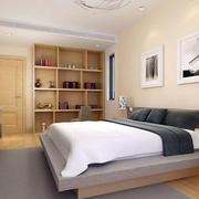 卧室原木橱柜装修