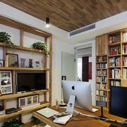 纯原木小书房装修