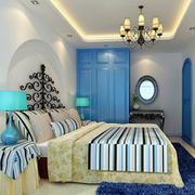 卧室拱形床头设计