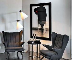 宁静娴雅:家庭现代黑白装饰画装修效果图