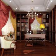 书房整体书架装修