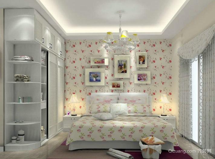 140平米小洋房韩式风格卧室装修效果图