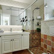 三室两厅卫生间浴柜图
