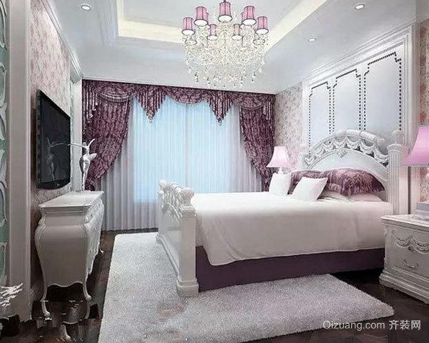 140平米小洋房韩式风格卧室装修效果图图片
