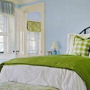 卧室田园风格窗户设计