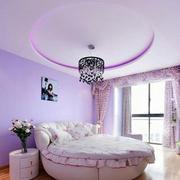 卧室圆形吊顶设计