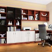 红木书房书柜设计
