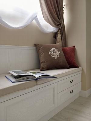韩式清新:2层小洋楼卧室飘窗装修设计图集