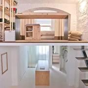 阁楼悬空跃层设计