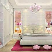 卧室床头背景墙装修