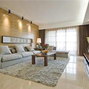 唯美豪华的客厅地板砖装修