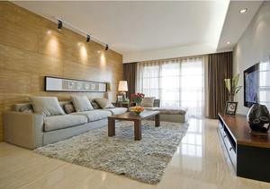 时尚豪华的大户型现代欧式客厅地板砖效果图