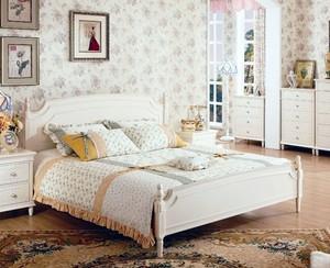 30平米简约韩式卧室背景墙装修效果图
