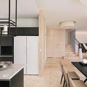 公寓厨房隔断墙设计