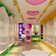 韩式童装店吊顶装修效果图