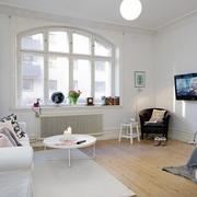 公寓客厅简欧式窗户