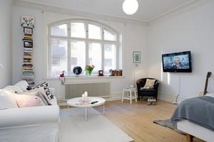 60平米单身公寓装修效果图