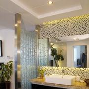 公寓洗手台瓷砖图