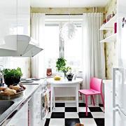 北欧风格厨房橱柜装修