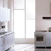 一字型厨房效果图