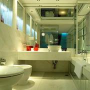 豪华卫生间灯光设计