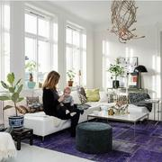 公寓紫色客厅欣赏