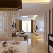 精致清新的客厅装修效果图