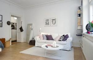 公寓客厅沙发摆放