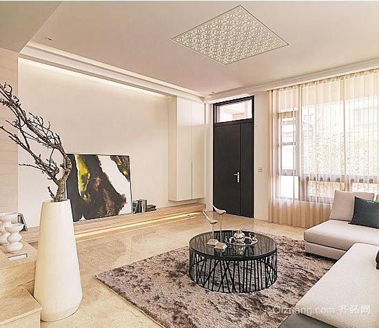 暖到心底:温柔如水100平单身公寓装修效果图
