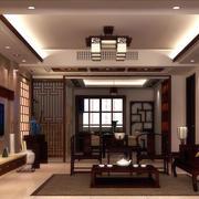 精美豪华的中式客厅设计