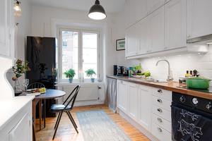 巧妙设施:20平简居小厨房装修设计图