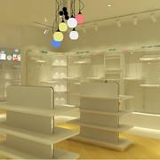 现代童装店样板房装修效果图