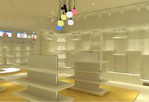 创意独特的韩流都市童装店装修效果图