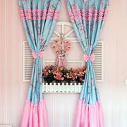 唯美型飘窗窗帘设计
