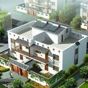 华美的农村二层房屋设计图