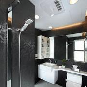 新房时尚简洁卫生间图