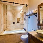别墅卫生间浴缸设计