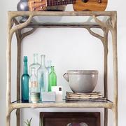 小户型客厅置物架设计