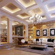 别墅天花板设计大全