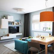 公寓客厅组合电视柜展示