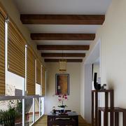 新中式古典主义阳台图展示