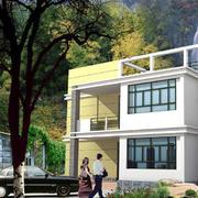明亮农村房屋设计图