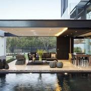 别墅庭院设计图片