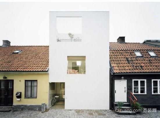 现代简约风格小型复式楼装修效果图设计