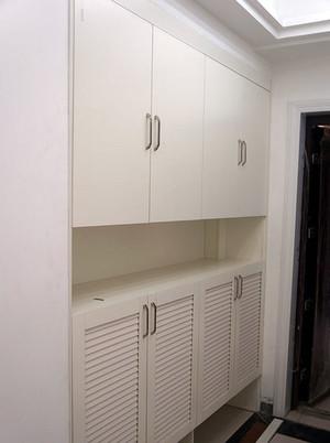独特的欧式大户型进门玄关鞋柜装修效果图