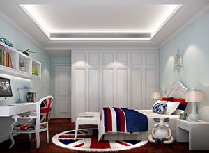 50平米简欧风格大型儿童房装修效果图